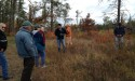 Landowners learning about natural forest regeneration and management.  SCRA / Monica Zachay