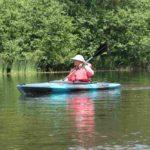 namekagon-paddle-blue-kayak