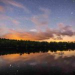 namekagon-paddle-sunset-stars-reflection