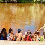Kids.River.Looking.Wondering