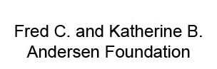 Andersen Foundation logo
