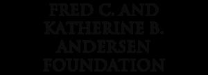 Fred C & Katherine B Andersen Foundation Logo