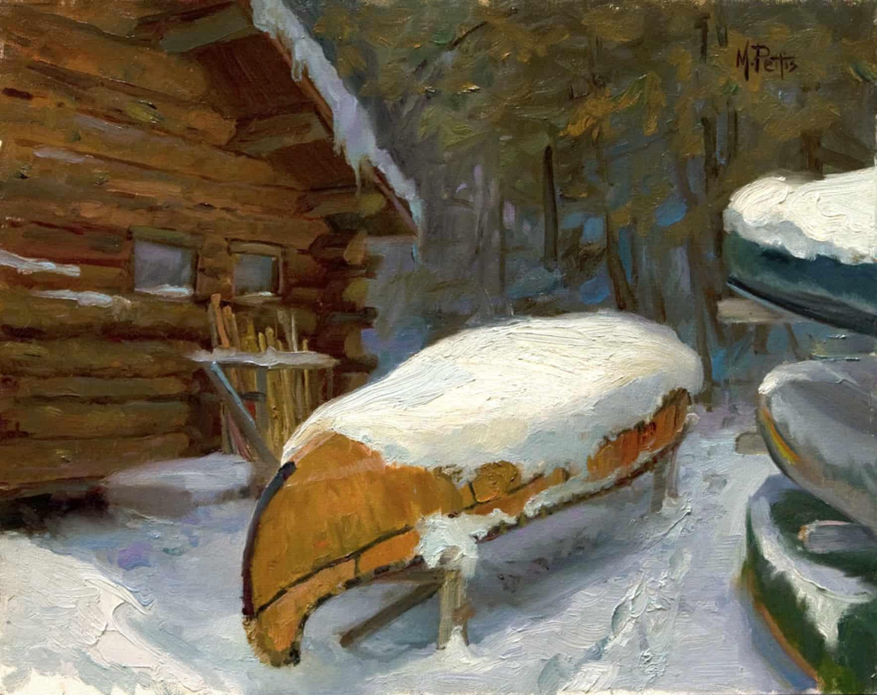 """The Grand Master"" | 12 x 16"" oil on linen, plein air, 2012 | Mary Pettis"
