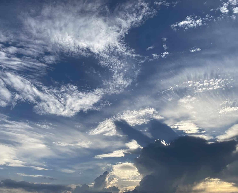 Summer skyscape. (Photo Credit: Sophia Patane, Wild Rivers Conservancy)