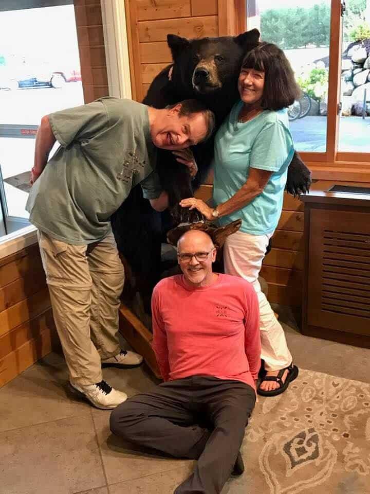 SCRA Paddle participant Deborah Borek and fellow participants! (Photo: SCRA Paddle participant)