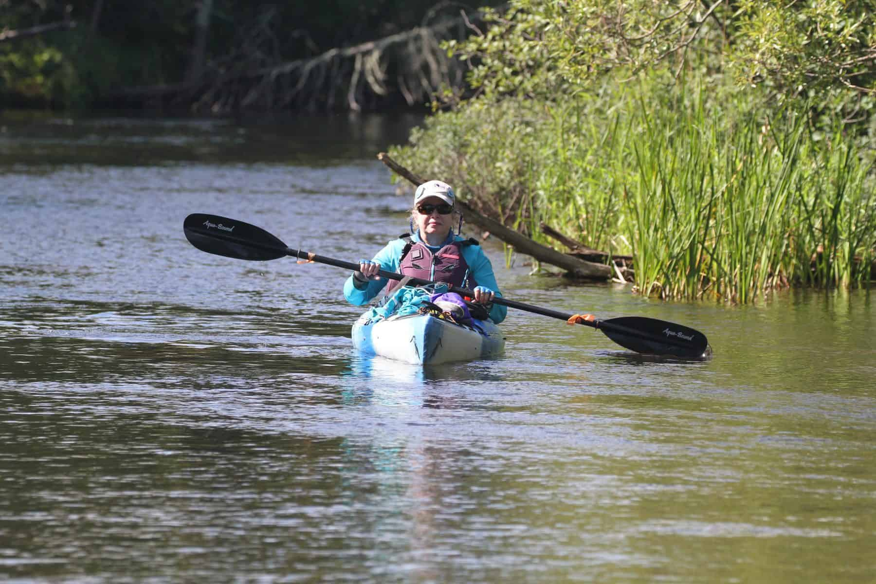 Wild Rivers Conservancy Paddle Participant Carol Dahl (Photo: Mark Sampson)