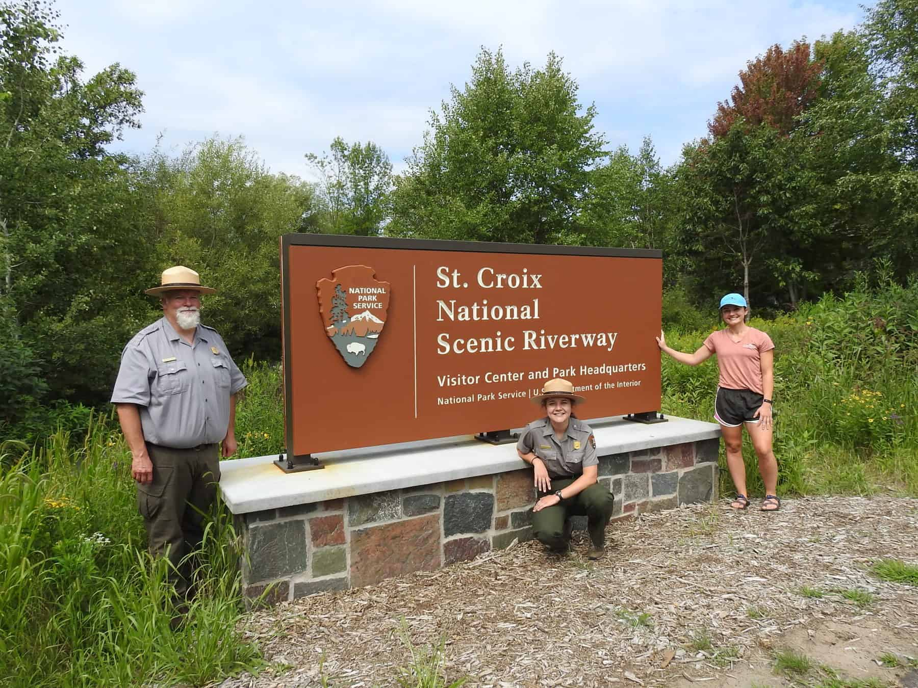 St. Croix National Scenic Riverway Park Rangers and Wild Rivers Conservancy staff. (Photo: Sophia Patane, Wild Rivers Conservancy)