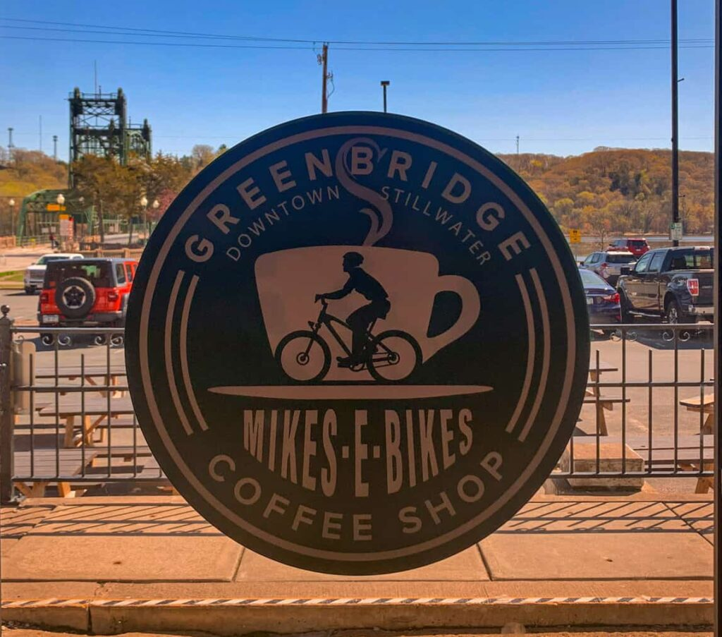 Green Bridge Coffee in Stillwater, Minnesota. (Photo: Kate Wright, Wild Rivers Conservancy)