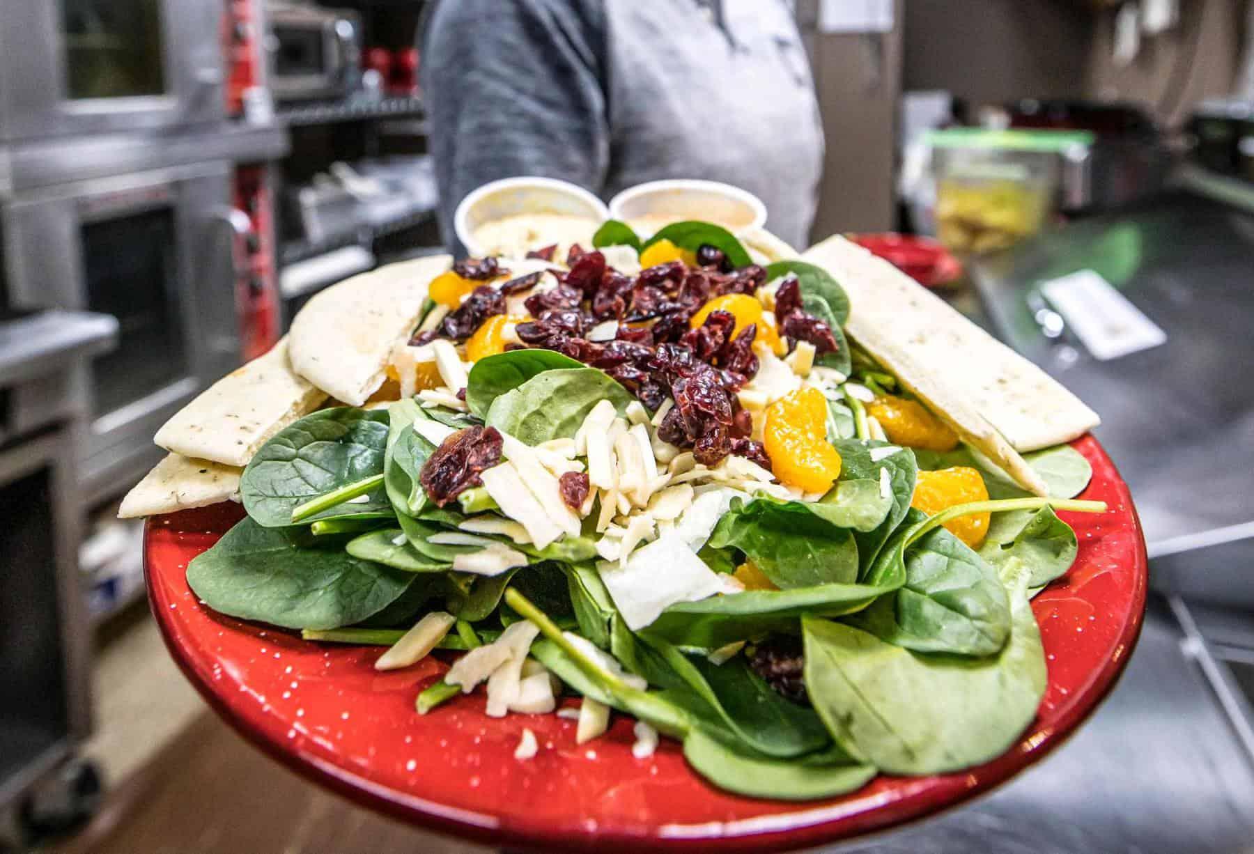 The Dock Coffee's signature salad. (Photo: The Dock Coffee)