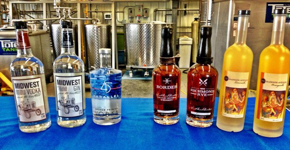 Photo: 45th Parallel Distillery
